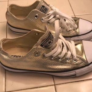 gold converse all stars